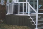 Trex decking, also known as composite